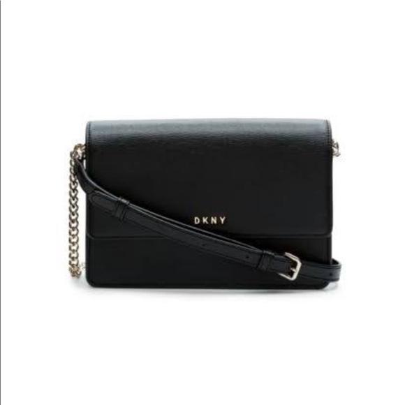8924f8f43376 Dkny Handbags - DKNY Bryant Park Flap Chain Crossbody